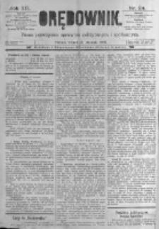 Orędownik: pismo poświęcone sprawom politycznym i spółecznym. 1889.01.29 R.19 nr24