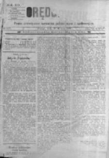 Orędownik: pismo poświęcone sprawom politycznym i spółecznym. 1889.01.30 R.19 nr25