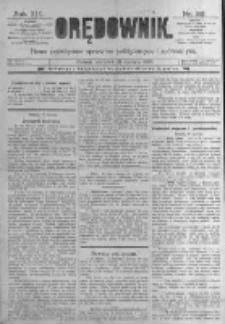 Orędownik: pismo poświęcone sprawom politycznym i spółecznym. 1889.01.31 R.19 nr26