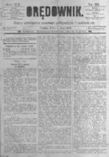 Orędownik: pismo poświęcone sprawom politycznym i spółecznym. 1889.02.02 R.19 nr28