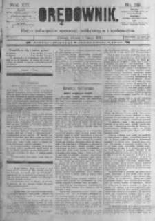 Orędownik: pismo poświęcone sprawom politycznym i spółecznym. 1889.02.05 R.19 nr29