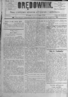 Orędownik: pismo poświęcone sprawom politycznym i spółecznym. 1889.02.06 R.19 nr30