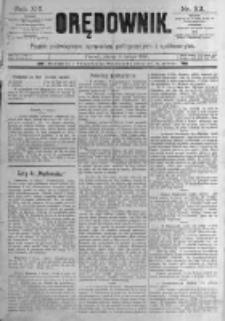 Orędownik: pismo poświęcone sprawom politycznym i spółecznym. 1889.02.08 R.19 nr32