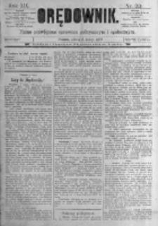Orędownik: pismo poświęcone sprawom politycznym i spółecznym. 1889.02.09 R.19 nr33