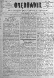 Orędownik: pismo poświęcone sprawom politycznym i spółecznym. 1889.02.12 R.19 nr35