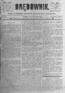 Orędownik: pismo poświęcone sprawom politycznym i spółecznym. 1889.02.20 R.19 nr42