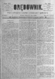 Orędownik: pismo poświęcone sprawom politycznym i spółecznym. 1889.02.23 R.19 nr45