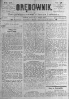 Orędownik: pismo poświęcone sprawom politycznym i spółecznym. 1889.02.24 R.19 nr46