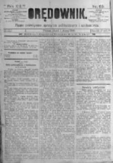 Orędownik: pismo poświęcone sprawom politycznym i spółecznym. 1889.03.01 R.19 nr50