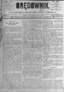 Orędownik: pismo poświęcone sprawom politycznym i spółecznym. 1889.03.10 R.19 nr58