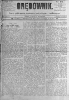 Orędownik: pismo poświęcone sprawom politycznym i spółecznym. 1889.03.12 R.19 nr59