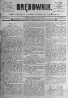 Orędownik: pismo poświęcone sprawom politycznym i spółecznym. 1889.03.13 R.19 nr60