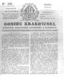 Goniec Krakowski: dziennik polityczny, liberalny i naukowy. 1831.05.31 nr123