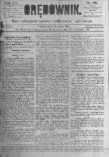 Orędownik: pismo poświęcone sprawom politycznym i spółecznym. 1889.03.20 R.19 nr66