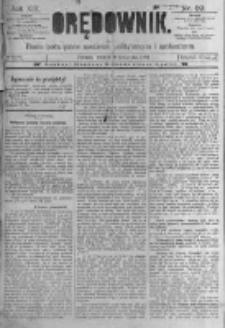 Orędownik: pismo poświęcone sprawom politycznym i spółecznym. 1889.04.09 R.19 nr82