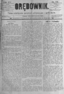 Orędownik: pismo poświęcone sprawom politycznym i spółecznym. 1889.04.13 R.19 nr86
