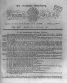 Breslauer Zeitung. 1831.11.01 Nr256