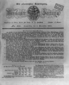 Breslauer Zeitung. 1831.11.03 Nr258