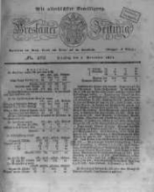 Breslauer Zeitung. 1831.11.08 Nr262
