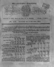 Breslauer Zeitung. 1831.11.19 Nr272