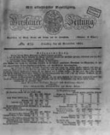 Breslauer Zeitung. 1831.11.22 Nr274