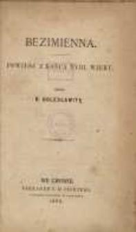 Bezimienna: powieść z końca XVIII wieku. T. 2