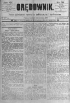 Orędownik: pismo poświęcone sprawom politycznym i spółecznym. 1889.04.21 R.19 nr93