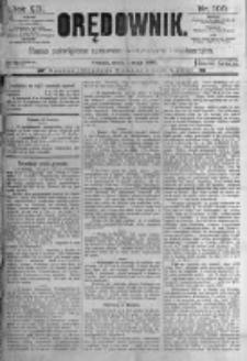 Orędownik: pismo poświęcone sprawom politycznym i spółecznym. 1889.05.01 R.19 nr100