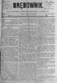Orędownik: pismo poświęcone sprawom politycznym i spółecznym. 1889.05.04 R.19 nr103