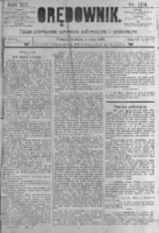 Orędownik: pismo poświęcone sprawom politycznym i spółecznym. 1889.05.05 R.19 nr104