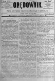 Orędownik: pismo poświęcone sprawom politycznym i spółecznym. 1889.05.10 R.19 nr107