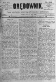 Orędownik: pismo poświęcone sprawom politycznym i spółecznym. 1889.05.11 R.19 nr108