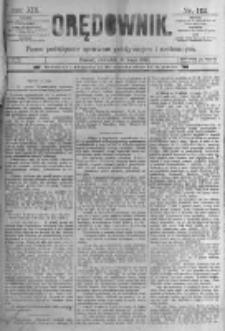 Orędownik: pismo poświęcone sprawom politycznym i spółecznym. 1889.05.16 R.19 nr112
