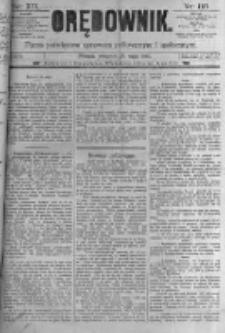 Orędownik: pismo poświęcone sprawom politycznym i spółecznym. 1889.05.23 R.19 nr118