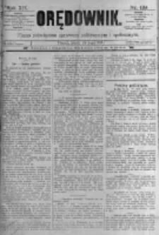 Orędownik: pismo poświęcone sprawom politycznym i spółecznym. 1889.05.24 R.19 nr119