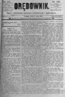 Orędownik: pismo poświęcone sprawom politycznym i spółecznym. 1889.05.29 R.19 nr123