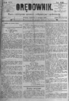 Orędownik: pismo poświęcone sprawom politycznym i spółecznym. 1889.06.02 R.19 nr126