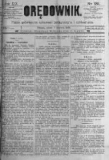 Orędownik: pismo poświęcone sprawom politycznym i spółecznym. 1889.06.08 R.19 nr131