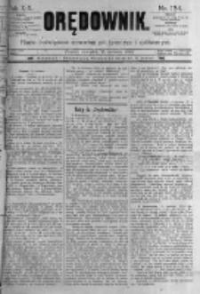 Orędownik: pismo poświęcone sprawom politycznym i spółecznym. 1889.06.13 R.19 nr134