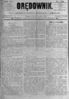 Orędownik: pismo poświęcone sprawom politycznym i spółecznym. 1889.06.19 R.19 nr139
