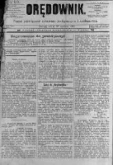 Orędownik: pismo poświęcone sprawom politycznym i spółecznym. 1889.06.29 R.19 nr147