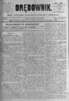 Orędownik: pismo poświęcone sprawom politycznym i spółecznym. 1889.07.06 R.19 nr152