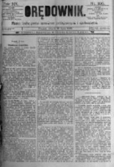 Orędownik: pismo poświęcone sprawom politycznym i spółecznym. 1889.07.16 R.19 nr160