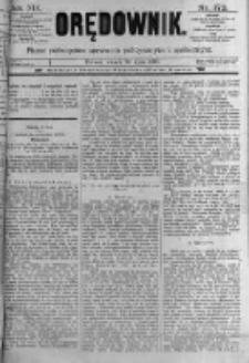 Orędownik: pismo poświęcone sprawom politycznym i spółecznym. 1889.07.30 R.19 nr172