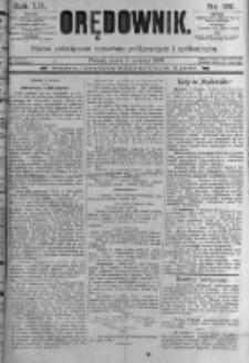 Orędownik: pismo poświęcone sprawom politycznym i spółecznym. 1889.08.09 R.19 nr181