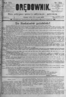 Orędownik: pismo poświęcone sprawom politycznym i spółecznym. 1889.08.10 R.19 nr182