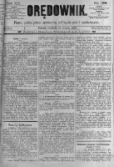 Orędownik: pismo poświęcone sprawom politycznym i spółecznym. 1889.08.18 R.19 nr188