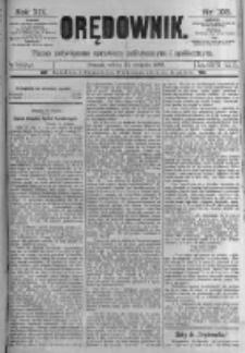 Orędownik: pismo poświęcone sprawom politycznym i spółecznym. 1889.08.24 R.19 nr193