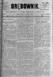 Orędownik: pismo poświęcone sprawom politycznym i spółecznym. 1889.08.30 R.19 nr198