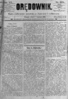 Orędownik: pismo poświęcone sprawom politycznym i spółecznym. 1889.09.07 R.19 nr205